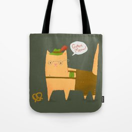 Oktoberfest Kitty Tote Bag