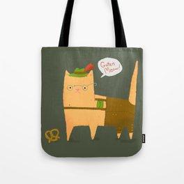 Oktoberfest Kitty Tote Bag