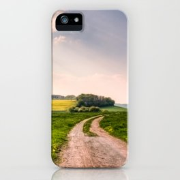 Road To Happiness  iPhone Case