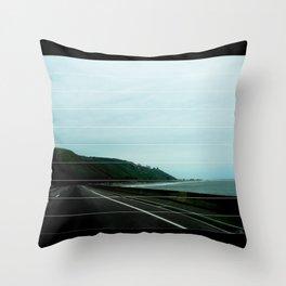 SANTA BARBARA COAST Throw Pillow