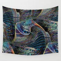 architect Wall Tapestries featuring the delusional architect by David  Gough