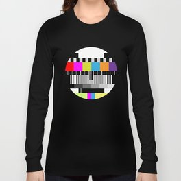 Television Color Test Long Sleeve T-shirt
