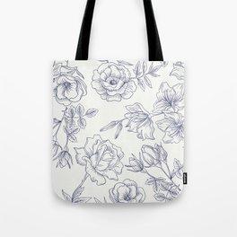 Vintage Roses x Springflowers Tote Bag