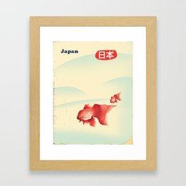 Japan Goldfish Framed Art Print