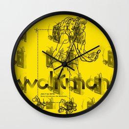 Bo Mak Calendar - July 1st Wall Clock
