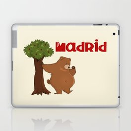 MADRID: Bear and Madrono (v.2) Laptop & iPad Skin