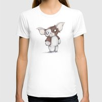 gizmo T-shirts featuring Gizmo Plushie by Ludwig Van Bacon