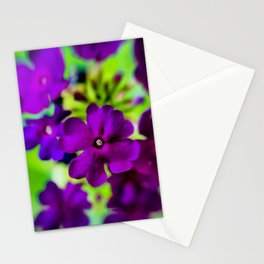 Psychedelic Purple Stationery Cards