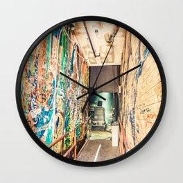 Backstage Wall Clock