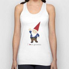 Gnome Love Unisex Tank Top