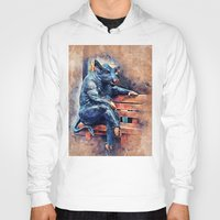 taurus Hoodies featuring Taurus by jbjart