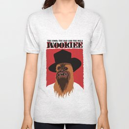 The Good, The Bad and The Ugly Wookie Unisex V-Neck