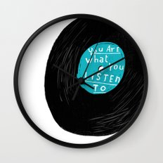 who you are Wall Clock