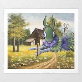 Twitch Art Print