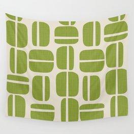 Pistache Yoyo Wall Tapestry