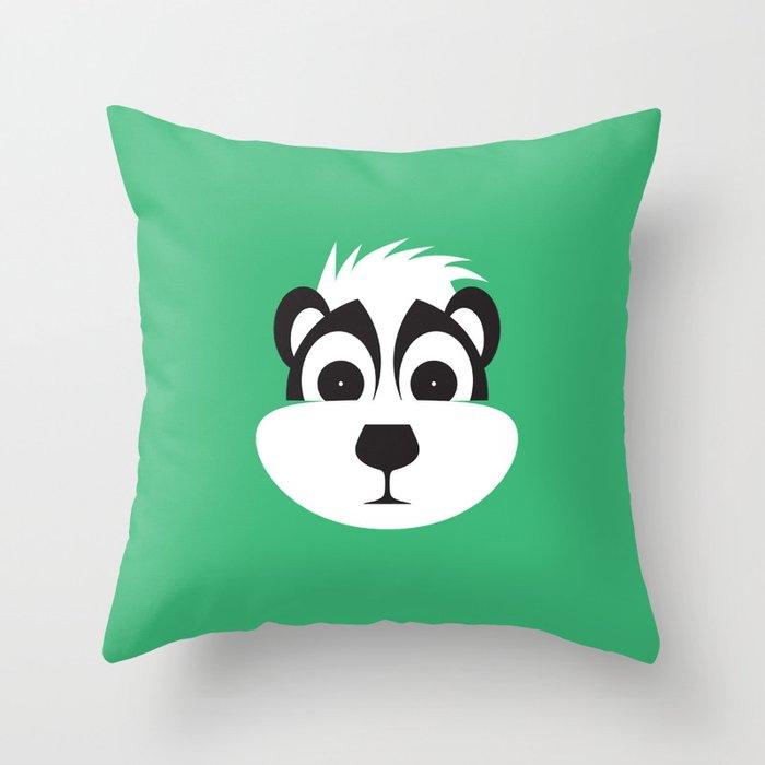 Drunk as a Skunk Throw Pillow