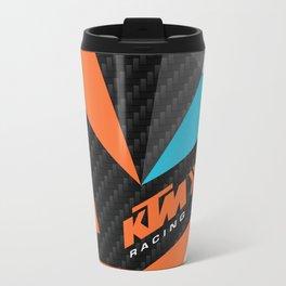 KTM Carbon Fractals Travel Mug