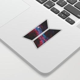 BTS LOGO FANTASTIC SPACE Sticker