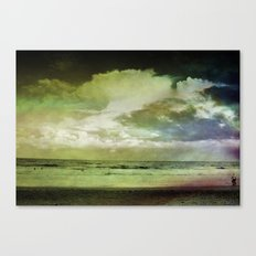 Occupy Beach Canvas Print