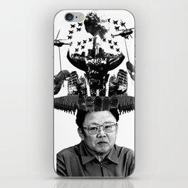 Kim Jong il iPhone Skin