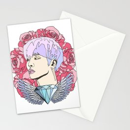 Roses for Jonghyun. Stationery Cards