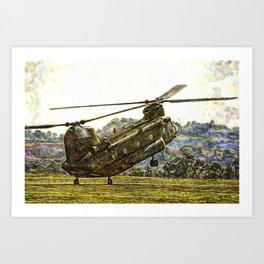 192 Chinook Art Print