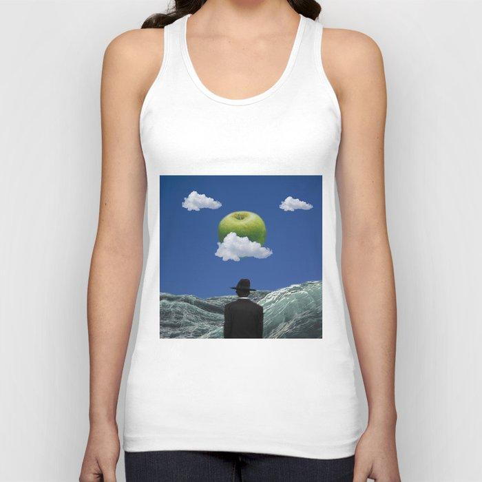 Apple Magritte Unisex Tank Top