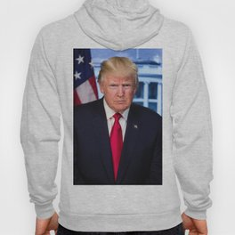Portrait of President Donald J. Trump Hoody