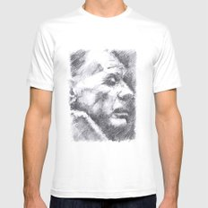 Borges MEDIUM Mens Fitted Tee White