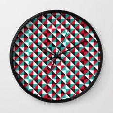 Typoptical Illusion A no.4 Wall Clock