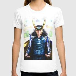 Loki - Ragnarok IV Blue T-shirt