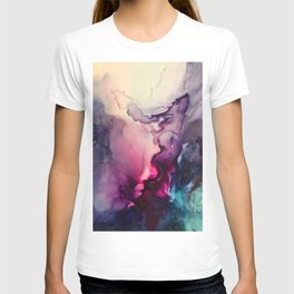 Mission Fusion - Mixed Media Painting T-shirt