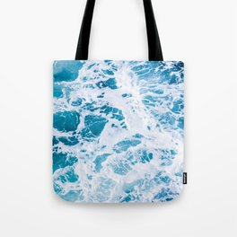 Perfect Ocean Sea Waves Tote Bag