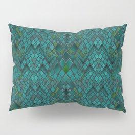 Digital graphics snake skin. Pillow Sham