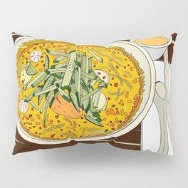 Singapore Laksa Noodle Pillow Sham
