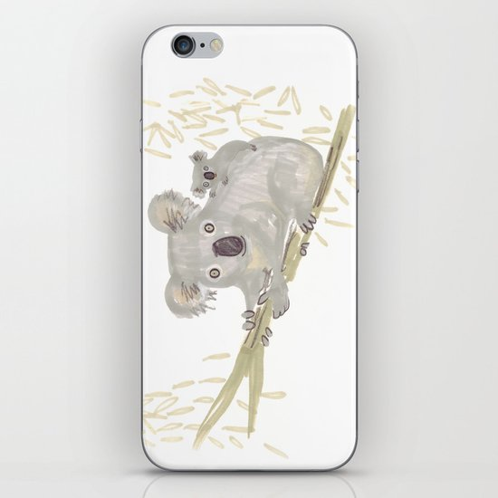 Koala & baby iPhone Skin