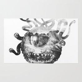 Beholder (Black & White) Rug