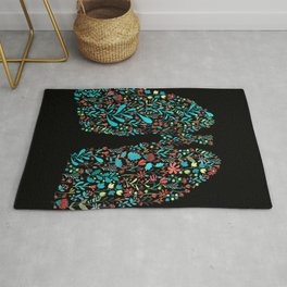 lung nature Rug