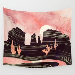 Rose Desert Wall Tapestry