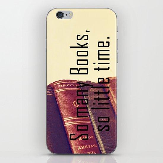 So many Books iPhone & iPod Skin