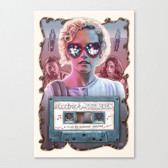 Electrick Children (full poster) Canvas Print