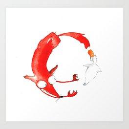 The Ring #2 Art Print