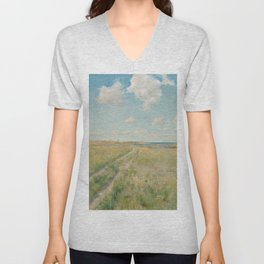 The Old Road to the Sea, 1893 Unisex V-Neck