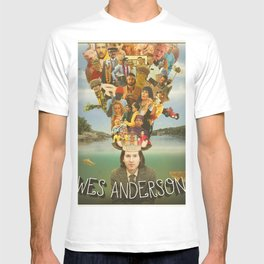 The Mind of Wes Anderson T-shirt