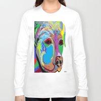 rottweiler Long Sleeve T-shirts featuring Rottweiler by EloiseArt