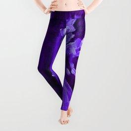 Guardian Angel - Dark Purple Leggings