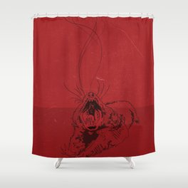 Evil Shower Curtain