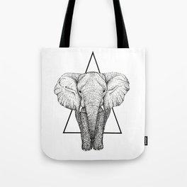 Wisdom Elephant Tote Bag