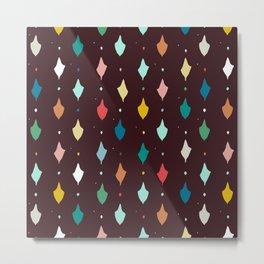 choc multi llama diamonds Metal Print