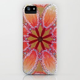 Ancestral Alchemy Mandala iPhone Case